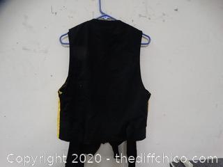 6 Black & Yellow Vests