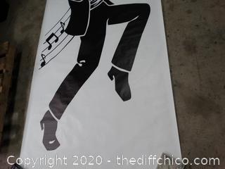 Jazz Player Banner