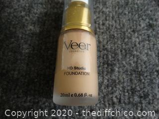 New Veer Cosmetics HD Foundation Nutmeg