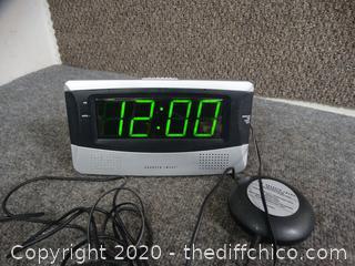 Working Sharper Image Alarm Clock