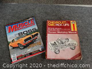 Chevrolet Manual, & Muscle Magazine
