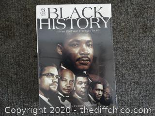 Black History - 6 Disks CD set