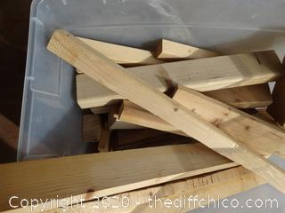 Tub of Wood