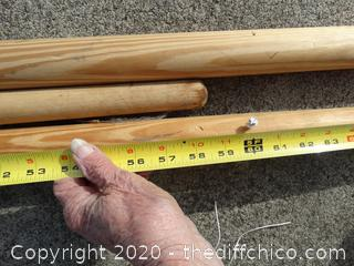 Round Wood Pieces
