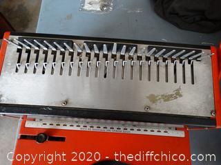 Ibico AG Seestrasse 346ch - 8086 Machine