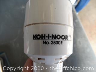 Vintage KOH-I-NOOR No. 2800E Rapido Graph
