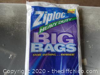 Heavy Duty Ziploc Big Bags