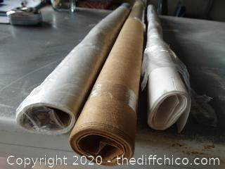 3 Rolls of Misc. Paper