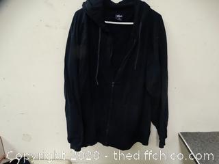 Dark Blue Cold Storage Sweatshirt XL