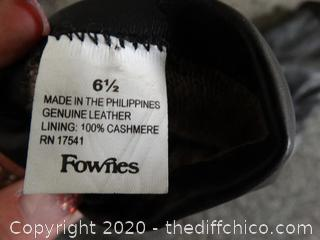 6 1/2 Fownes Gloves