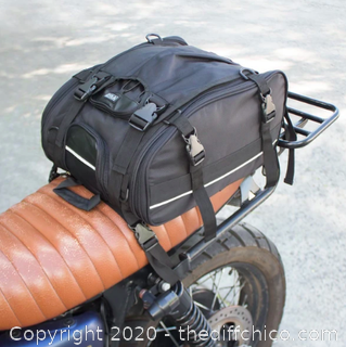 Vuz Moto Expandable Tail Bag (J10)