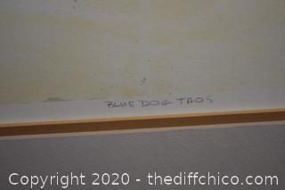 Framed Signed, Numbered Print