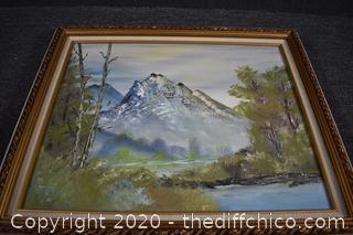 Framed Original Oil