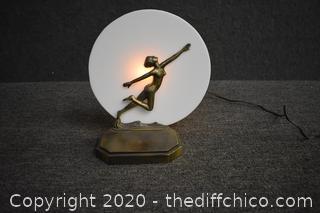 Working Art Deco Lamp