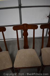 6 Ethan Allen Chairs