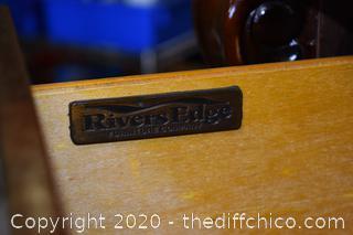 River's Edge 5 Drawer Dresser