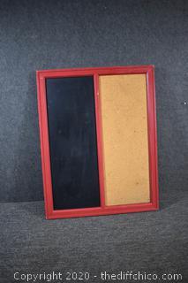 Chalk / Cork Board