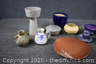 10 Pieces of Pottery