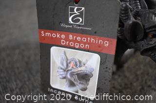 Smoke Breathing Dragon - Incense Burner