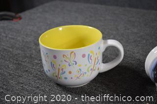 5 Coffee Mugs
