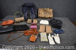 Lot of Purses and More