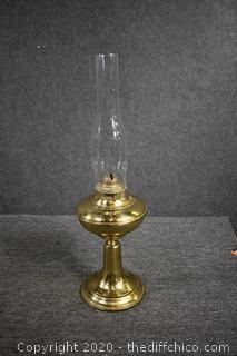 Brass Oil Lamp