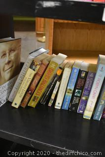 Lot of Books-cart not included