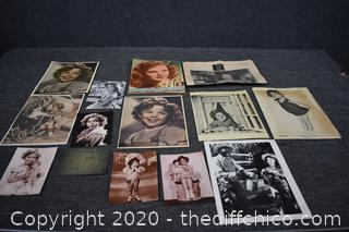 Shirley Temple Photographs and Collectibles