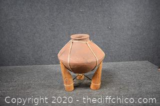 Terra Cotta Pot w/stand