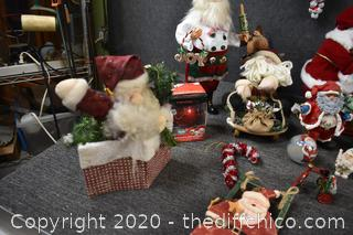 Santa Clauses and More