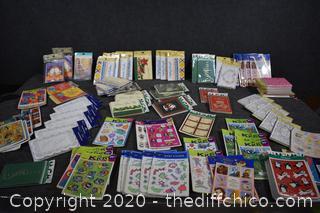 NIB Stickers and Invitations