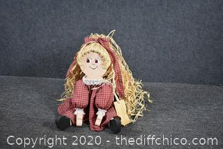 Local Hand Made and Designed Doll