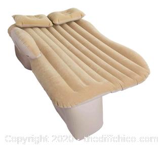 Winterial Backseat Inflatable Car Mattress - Tan (J6)