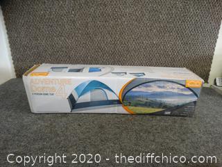 New Adventure Dome 4 Person Tent