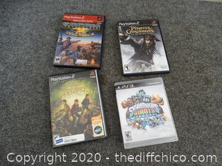 PS2 & PS3 Games
