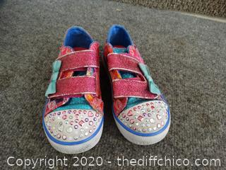 Skechers Twinkle Toes Shoes 9 toddler