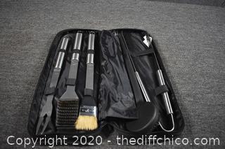 BBQ Tool Set w/Case