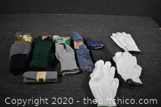 New Socks, Gloves and More