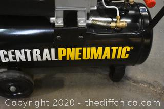 Working Central Pneumatic Compressor
