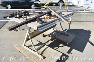 Large Drafting Table w/Accessories