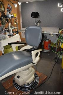 Working Ritter Adjustable Chair