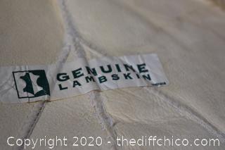 Genuine LambSkin - 72in x 44in
