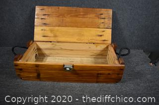 Wood Ammo Box