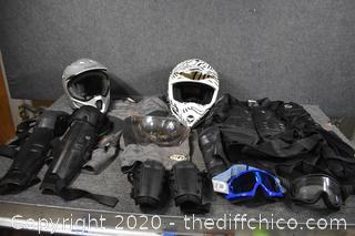 Motor Cross Gear