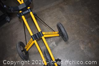 Folding Sun Mountain Speed Cart V1 Golf Cart