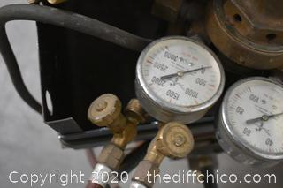 Oxy Acetylene Tank / Torch and Accessories