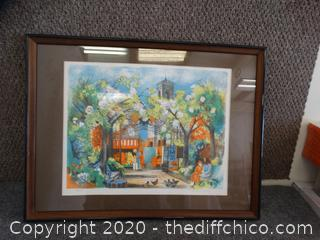 #185 of 275 Singed Framed Art