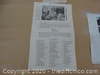 # 778 of 925 Signed Framed Art