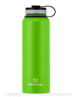 Winterial 40oz Stainless Steel Water Bottle - Green (J10)