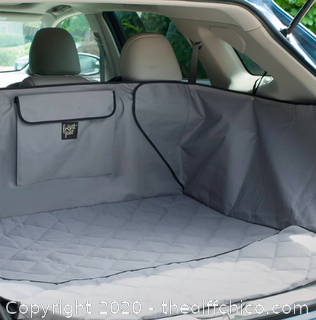 Frontpet SUV Pet Cargo Liner With Quilted Top - XL Gray (J23)